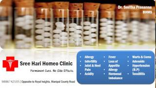 Homeopathy Clinic in Singasandra, Electronic City - Sree Hari Homeo Clinic